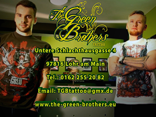The Green Brothers Tattoo in Lohr